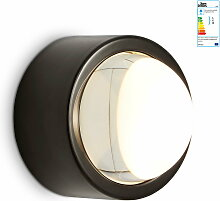 Tom Dixon - Spot LED-Wandleuchte rund, schwarz