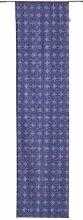 TOM TAILOR 575072 Flächenvorhang T-Dot Pattern 60 x 245 cm, blau