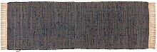 Tom Tailor Läufer denim Cotton Colors UNI, Größe:60x180cm