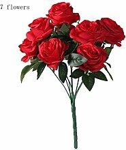 Tomasa Blumen- Künstliche Deko Rose Blumen