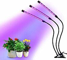 Tomasa LED Pflanzenlampe,Einstellbare Plant Grow