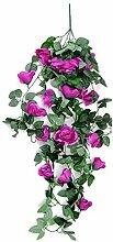 Tomasa Simulation Rose Flower- Rosenblume Hanging