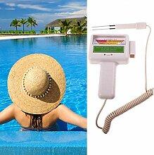 Tomasa- Wassertestgerät PH Chlor, Pool Wasser PH