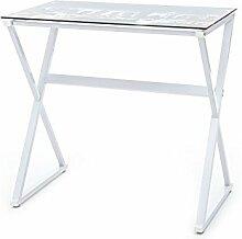 Tomasucci 1495 Skyline Schreibtisch, Weiß