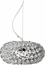 Tomasucci Meteora Lampe, Silber