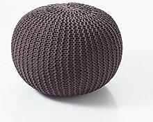 Tomasucci Sitzsack aus Baumwolle Like Brown