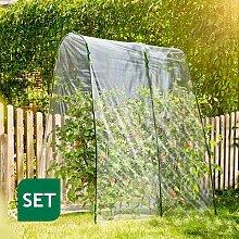 Tomatengewächshaus als Folientunnel-Set 2x2m /