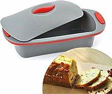 Tomister Brotform aus Silikon Brotbackform mit