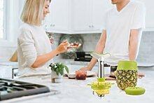 Tomorrow`s Kitchen Ananasschneider Edelstahl Set