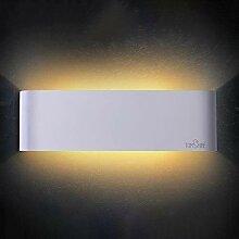 Tomshine Wandleuchte LED Innen 12W Warmweiß