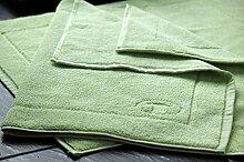 TomTailor Badvorleger Badematte Duschmatte Farbe: Lindgrün, Größe: 50 x 70 cm, 100% Baumwolle, Qualität: 800 g/m²