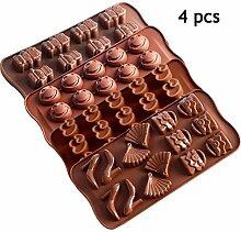 TONFAY Silikon-Backform - Schokoladenkuchen