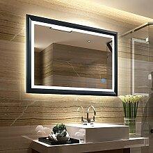 Tonffi Badspiegel LED Beleuchtung Wandspiegel