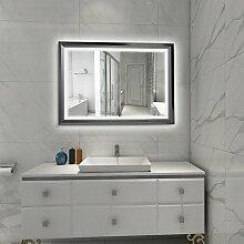 Tonffi Badspiegel Wandspiegel Spiegel mit LED