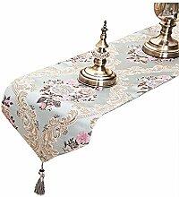 Tong Yue Luxus Jacquard Stoff Tischläufer mit