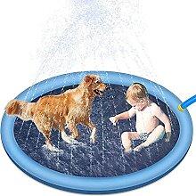 TongNS1 Hundepool - Splash Pad Sprinkler Play