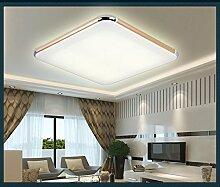 TonHan 6086-39x39 Gold Rahmen LED Deckenleuchte Lichtfarbe Warmweiß extra Dünn Neu Sparsam A+ (Gold Rahmen)