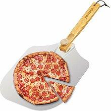 Tonma Pizzaschaufel aus hochwertigem Aluminium mit