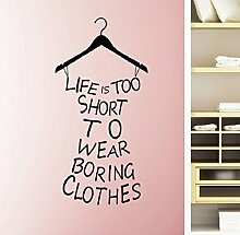 "Tonsee ""Life Is Too Short To Wear Boring"