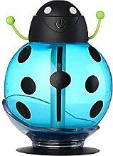 Tonsee Beatles Home Aroma LED Luftbefeuchter Luft Diffusor Luftreiniger Zerstäuber (Blau)