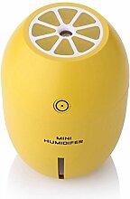 Tonsee Zitrone kreative Ultraschall Luftbefeuchter ätherisches Öl Diffuser Aroma mit leichten Aromatherapie elektrische Aroma Diffuser Nebel Maker (Gelb)