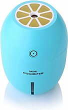 Tonsee Zitrone kreative Ultraschall Luftbefeuchter ätherisches Öl Diffuser Aroma mit leichten Aromatherapie elektrische Aroma Diffuser Nebel Maker (Blau)