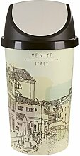 Tontarelli Mülleimer Schwerkopf Vintage 45L Venice