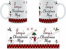 Tony'Weihnachten Becher, Tasse, Keramik,