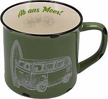 Tony Brown Maritime Porzellan Kaffeebecher mit