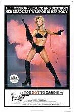 Too Hot To Handle 1977 Poster 01 Metal Sign A4 12x8 Aluminium