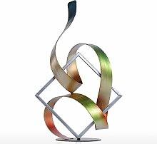 Tooart abstrakte Skulptur, Quadrat und