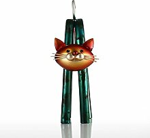 Tooart Katzenstatuen-Skulptur, Frühlings-kleine