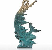 Tooart Meerjungfrau Skulptur, Meerjungfrau Figur