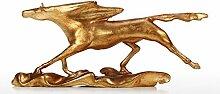 Tooart-Pferdeskulptur, Brandung, die Wilde
