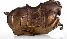 Tooart Pferdestatue, Fat Horse Bronze Skulptur