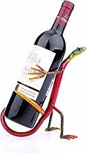 Tooart Weinflaschenhalter, Gecko Wine Rack
