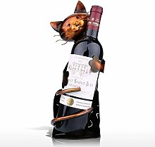 Tooart Weinflaschenhalter, Katzenförmige