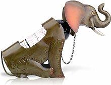 Tooarts Elefant Weinflaschenhalter