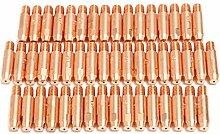 TOOGOO 50 Stuecke 0,8mm x 6mm Kupfer Kontaktspitze