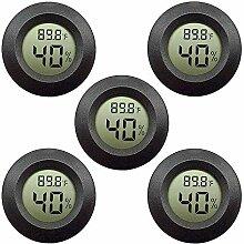 TOOGOO 5er Pack Hygrometer Thermometer Digitaler
