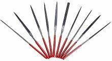 TOOGOO(R) 10 Stueck Professionelle Nadel Datei eingestellt Werkzeuge