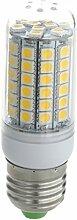 TOOGOO(R) 10x E27 8W 69 LED 5050 SMD Lampe