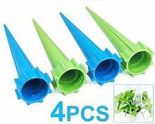 TOOGOO (R) 4 x Gartenbewaesserung Geraet Pflanzen fuer Ferien Flasche Bewaesserungssystem
