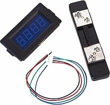 TOOGOO(R) 50A 3 ? Blau LED Digital Ampere Messinstrumen