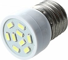 TOOGOO(R) E27 3W 9 LED 5630 SMD Lampe Strahler