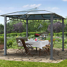 TOOLPORT Gartenpavillon Hardtop Sunset Deluxe, 3x3m