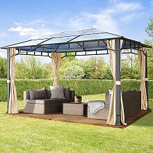 TOOLPORT Gartenpavillon Hardtop Sunset Deluxe