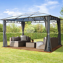 TOOLPORT Gartenpavillon Hardtop Sunset Deluxe loft