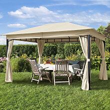 TOOLPORT Gartenpavillon Sunset Classic champagner,