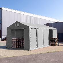 TOOLPORT Lagerzelt 4x10m - 3,0 m Seitenhöhe mit